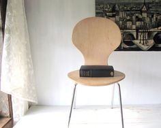 Mid Century Bent Plywood Arne Jacobsen Childs Chair ~ Set of 3 - Ant Chair - Fritz Hansen - Stacking Chair
