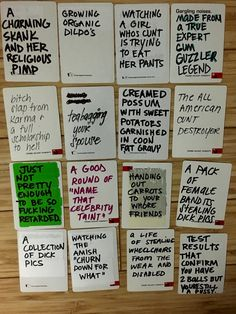 DIY your own cards against humanity or awesome and hilarious ideas for blank cards for card against humanity