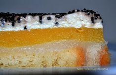 cretangastronomy.gr - Γλυκό ψυγείου με κρέμες αμυγδάλου και πορτοκαλιού Vanilla Cake, Sweet Tooth, Cheesecake, Desserts, Food, Vanilla Sponge Cake, Meal, Cheesecakes, Deserts