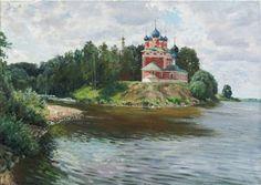Церковь Дмитрия на крови что в Угличе .