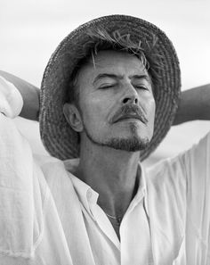 David Bowie, South Africa, 1995. Photograph by Bruce Weber via .A Glimpse at Bruce Weber's Newest Photography Exhibition - vanityfair