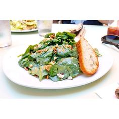 Spinach Simple Salad | Tender Greens