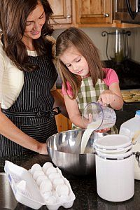 website dedicated to cooking with kids.