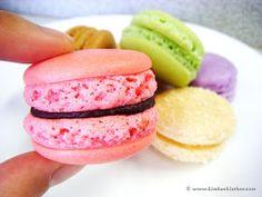 Kimba's Kitchen: MasterChef Macaron Madness: Chocolate Raspberry Macarons Recipe
