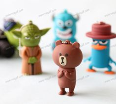 Promotion Gift Cartoon USB Flash Disk usb custom#flashdrive #usbflashdrive #thumbdrive #leatherusbdrive