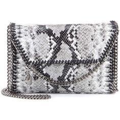 Stella McCartney Falabella Shaggy Deer Shoulder Bag (14,940 MXN) ❤ liked on Polyvore featuring bags, handbags, shoulder bags, gray shoulder bag, gray purse, stella mccartney purses, grey purse and deer purse