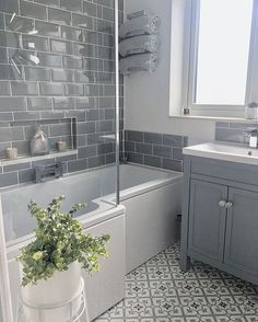 40 Modern Bathroom That Will Inspire You This Winter - Home Decoration Experts . - 40 Modern Bathroom That Will Inspire You This Winter – Home Decoration Experts 40 Modernes - Modern Bathrooms Interior, Bathroom Interior Design, Modern Small Bathrooms, Modern Bathroom Decor, Interior Modern, Interior Decorating, Colourful Bathroom Tiles, Grey Bathroom Furniture, Decorating Bathrooms
