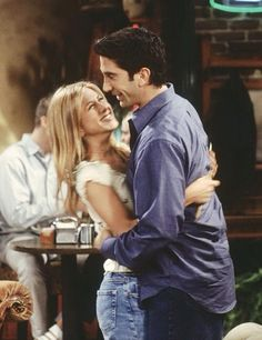 Ross and Rachel are actually the cutest
