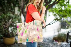 Make This $148 Anthropologie Tote for Under $30 via Brit + Co.