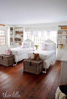 Dear Lillie: Everly and Eloise's Shared Room - Bluestone HIll