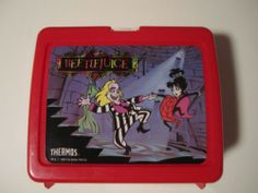 Beetlejuice Lunchbox by Thermos 1989 Tim Burton Excellent Condition | eBay