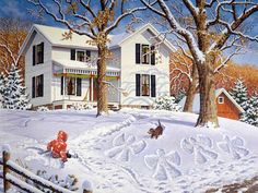 John Sloane - Angels in the snow