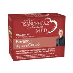Prezzi e Sconti: #Tisanoreica 2 med bevanda al gusto di cacao 4  ad Euro 16.99 in #Tisanoreica gianluca mech #Diete tisanoreica gianluca mech
