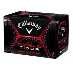 Callaway HX Diablo Tour Golf Balls (12 Pack, White)