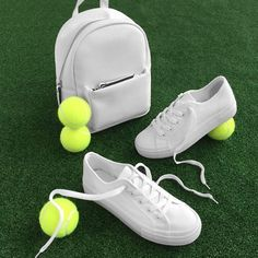 Day 1 of #Wimbledon and we're ready to serve up some serious style with all white accessories. Trainers: 351367310 | £13.99 Backpack: In stores now
