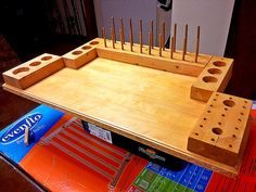 adding a finish to the fly tying desk Fishing Jig, Fly Fishing Tips, Fishing Stuff, Fly Tying Desk, Fly Tying Tools, Woodworking Shop, Woodworking Plans, Woodworking Projects, Wood Projects