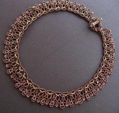 Victorian necklace by Cielo Design, via Flickr