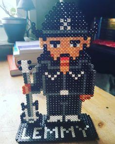 Lemmy Kilmister from Motörhead #lemmy #motörhead #motorhead #hama #perler