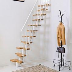 Goedkope bouwpakket Ruimtebesparende trap, Fontanot Oak 30