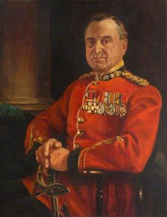Portrait of a Seated Monocled General Royal Irish Fusiliers Museum)