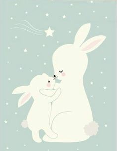 Nordic Kawaii Cartoon Animal Deer Bear Rabbit Poster Baby Kids Room Wall Art Print Picture Canvas Painting Home Deco No Frame Illustration Mignonne, Cute Illustration, Kids Room Wall Art, Nursery Wall Art, Canvas Pictures, Print Pictures, Lapin Art, Art Mignon, Baby Posters