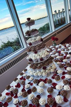 Unique wedding cupcakes by Cupcakes-A-Go-Go - A beautiful wedding and a wonderful shout-out from @Monona Terrace Community & Convention Center !