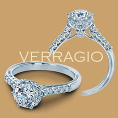 Verragio Classic-911RD7 Diamond Engagement Ring for about $2,000