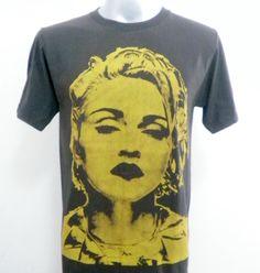 MADONNA  Women TShirt  Men TShirt   Rock TShirt  by 99rockshop, $15.99
