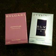 メルカリ商品: ブルガリ♡ミニチュア香水セット #メルカリ