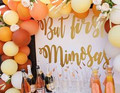 """But first, mimosas / Bridal/Wedding Shower """"But first, mimosas Bridal Shower"""" 
