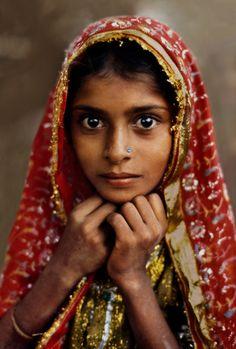 "vintagegal: "" Steve McCurry- Rajasthan, India, 1983 """