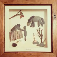 A pebbleart for all you horse lovers #horselover #horses #stables #lovehorses #pebbleartpiece #pebbleart #shoutoutwales #smallbusiness