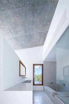 Casa payesa en Formentera, cuarto de baño