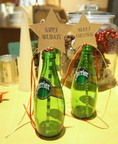 christmas perrier tree !