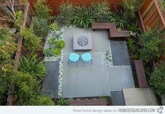 15 Contemporary Backyard Patio Designs | Home Design Lover