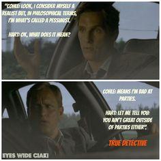 True Detective quotes   TRUE DETECTIVE: bomba!