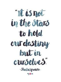 Giclee Print: Skakespeare Quote by Elena Oneill : 32x24in