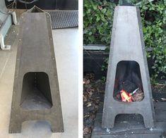 Sheet Metal Fireplace