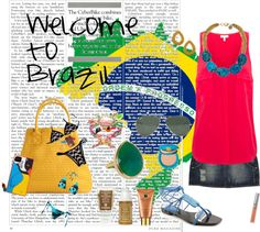 """""""Welcome To Brazil"""" by isabellatubarao on Polyvore"""