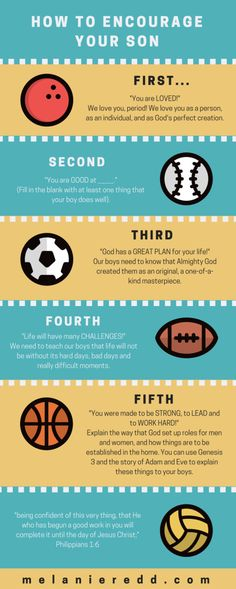how to your son infographic
