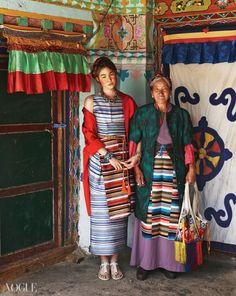 """A Nomad in Tibet"" Vogue Korea"