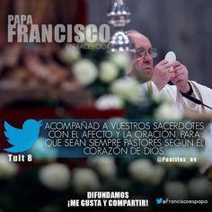 Acompañad a vuestros sacerdotes con el afecto y la oración, para que sean siempre Pastores según el corazón de Dios.