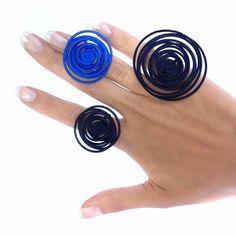 Rings HULA HOOP 3d printed #blu #blue #bleu #azul #blau #azraq #синий #青 #mavi #藍色 #μπλε #nero#black #noir #negro#schwarz#aswad #черный#黒 #siyah #黑色 #μαύρος#preto