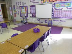 4th Grade Classroom Arrangement   ... took these pictures, but this is the basic layout of my classroom