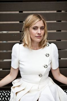 Greta Gerwig. Love when she compared re-telling a joke to re-acting one character into another. Both feel so ingeniune. Not to others so much, but to yourself.