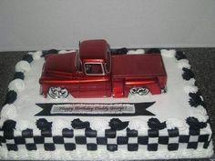 Ideas birthday cake for boyfriend father for 2019 Truck Birthday Cakes, Truck Cakes, 75th Birthday Parties, 70th Birthday, Surprise Birthday, Birthday Ideas, Special Birthday, Car Cakes For Men, Birthday Cake For Boyfriend