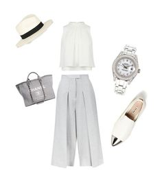 Love this by nikkibruns on Polyvore featuring polyvore, fashion, style, Whistles, Miu Miu, Chanel, Rolex and rag & bone