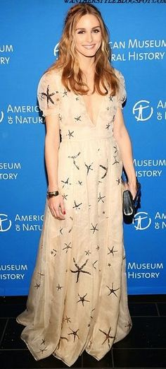 Olivia Palermo in Valentino attends the American Museum Of Natural History Museum Dance. #bestdressed