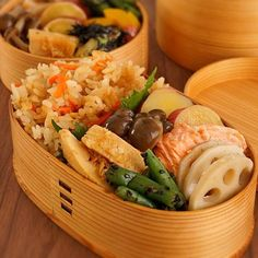 2014/3/25 毎日ときどきお弁当memoと【ツナとにんじんの炊き込みご飯のつくり方】 | あさこ食堂