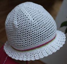 letní klobouček - český návod